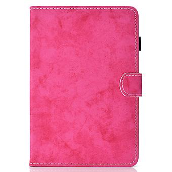 Case For Ipad 6 9.7 2018 Cover With Auto Sleep/wake Magnetic - Rose
