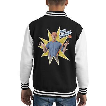 Blippi What A Surprise Kid's Varsity Jacket