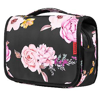 Hanging Toiletry Bag Travel Toiletry Organizer Bag With Sturdy Hook & Elastic Band Cosmetic Makeup Bag