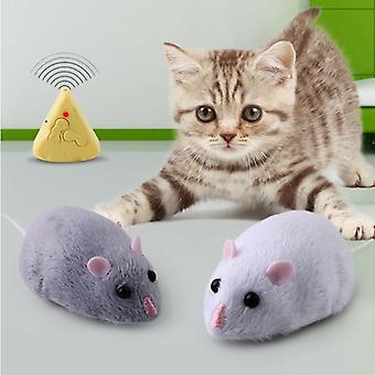 Symulacja Podczerwień Mysz elektryczna Dowcip Dowcipy Zdalne sterowanie Radio Sterowanie Myszy Kocie Zabawki