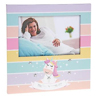 Unicorn Baby Shower Photoframe 6x4