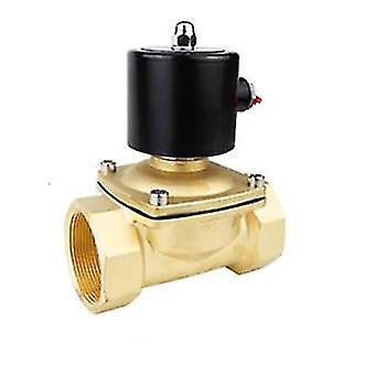 Valve solénoïde électrique normalement fermée pneumatique pour l'air d'huile d'eau