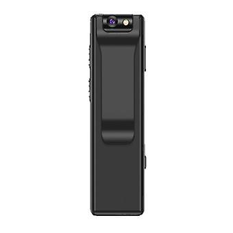 Kannettava langaton WiFi-kamera, 1080P HD-taskukamera, 32 Gt (musta)