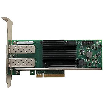 Intel Chipset Pci X8 Dual Copper Optical Interface Port Ethernet Network Card