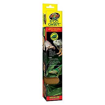 """Zoo Med Eco Carpet Reptile Carpet - Tan - 40 gal (15"""" x 36"""")"""