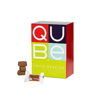 Swiss-QUBE Diätriegel - Gewichtskontrolle   Abnehmen ohne zu Hungern auf natürlicher Basis   Geschmack Fruchtig   70 Swiss-Qubes
