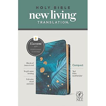 NLT Compact Bible Filament Enabled Edition Teal Palm