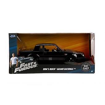 Fast & Furious Doms Buick Grand National 1:24 Échelle Jada 99539