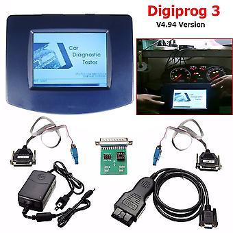Unité principale de Digiprog 3 Odometer Programmer V4.94 avec câble Obd2 St01 St04
