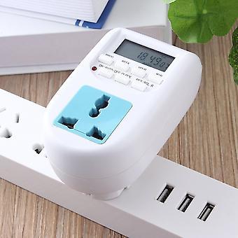 Minuterie numérique d'économie d'énergie Programmable Prise de minuterie électronique Eu Display