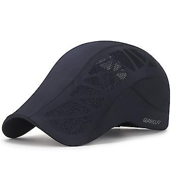 Duckbill Golf Hat Sunscreen Hats Men's Fashion Mesh Breathable Hat