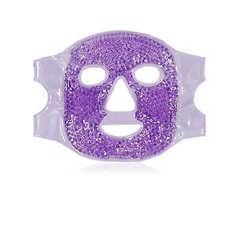 Gel Bead Mask Masque de beauté facial chaud / froid, utilisé pour les yeux gonflés, migraine, soulagement de la douleur