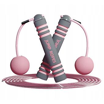 Cordless Weight-bearing Skipping Rope 2 In 1 For Fitness Fat Burning Aerobic Weight Loss Exercise