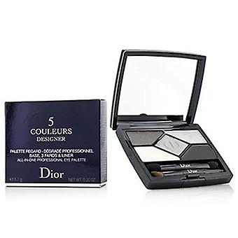 Christian Dior 5 Couleurs Designer All In One Professional Eye Palette - No. 008 Smoky Design - 5.7g/0.2oz