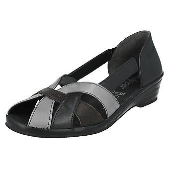 Ladies Sandpiper Low Wedge Sandal Nissa