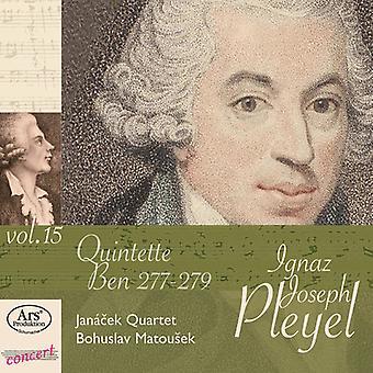 Pleyel/Janacek Qrt/Matousek - 15-Str Quinets [CD] USA import