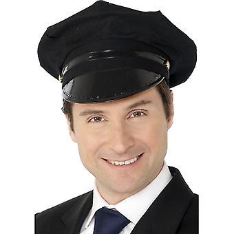 נהג כובע שחור