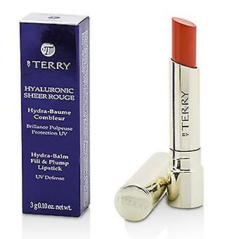 By Terry Hyaluronic Sheer Rouge Hydra Balm Fill & Plump Lipstick (uv Defense) - # 17 Zest Shot - 3g/0.1oz