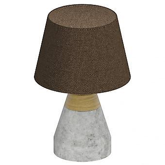 EGLO TAREGA betong Timmer Dome bordslampa