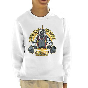 Techno Horse Gym Bravestarr Kid's Sweatshirt