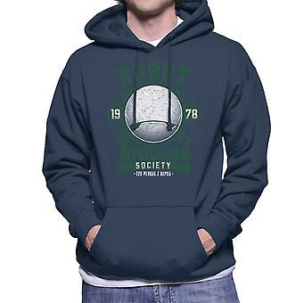 Robot Depreciation Society Hitchhikers Guide Men's Hooded Sweatshirt