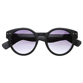 Óculos retrô Vintage inspirada em negrito círculo grosso quadros redondos óculos de sol
