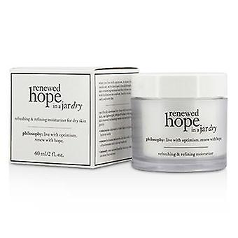 Philosophy Renewed Hope In A Jar Refreshing & Refining Moisturizer For Dry Skin - 60ml/2oz