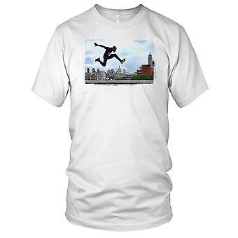 Street Runner Parkour Kinder T Shirt
