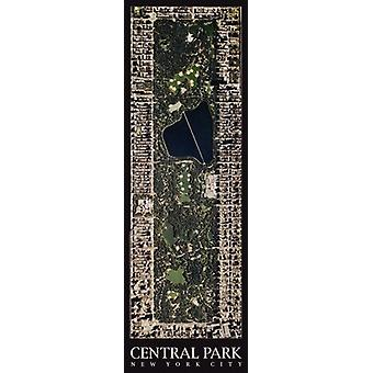 Central Park New York City affisch Skriv av Aric Boyles (13 x 39)