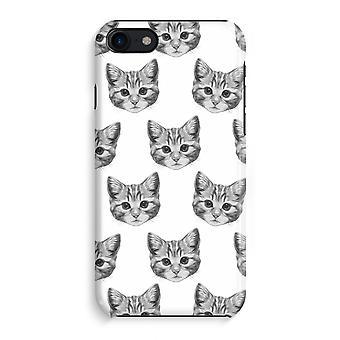 iPhone 8 pełny głowiczki (błyszcząca) - kotek