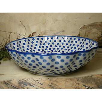 Dish, with a wavy margin, Ø 27.5 cm, height 7.5 cm, tradition 24, BSN 7918