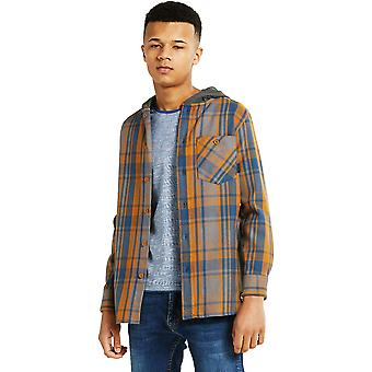 Dare 2 b Boys gravure brossé coton chemise à capuche revers Jersey