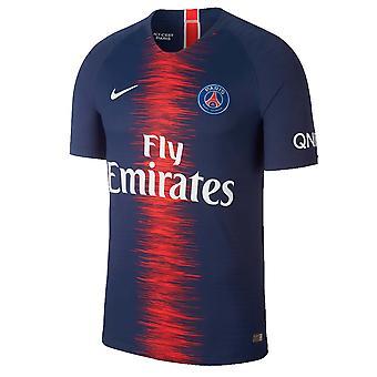 2018-2019 PSG autentiske Vapor Match hjem Nike trøje