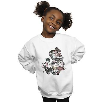 Disney Prenses Kız Belle Mutluluk Sweatshirt