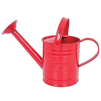 Bigjigs Toys Children's Red Watering Can Garden Gardening Kid's Outdoor