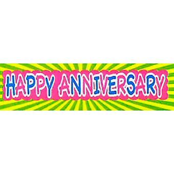Happy Anniversary Banner Giant