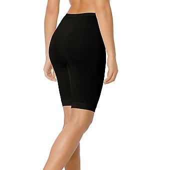 Mey 68500-3 Women's Exquisite Black Solid Colour Knee Length Leggings