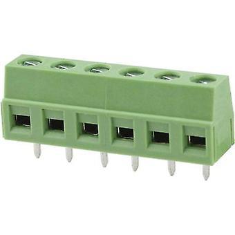 Degson DG127-5.0-02P-14-00AH Screw terminal 2,08 mm² aantal pinnen 2 groen 1 PC('s)