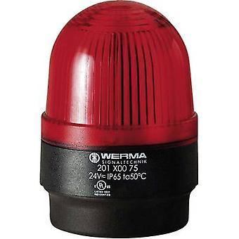 Werma Signaltechnik Light 202.100.55 Red Flash 24 V DC