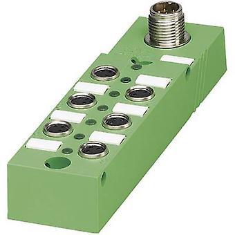 Sensor & actuator box (passive) M8 splitter + steel thread SACB- 6/3-L-M12-M8 1516247 Phoenix Contact 1 pc(s)