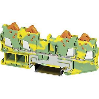 Phoenix Contact QTC 1,5-QUATTRO-PE 3205093 Tripleport PG terminal Number of pins: 4 0.25 mm² 1.5 mm² Green, Yellow 1 pc(s)