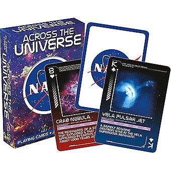 NASA kautta Universe asettaa 52 + Jokerit pelikortit