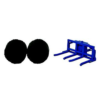 Britains 1:32 Scale Double Bale Lifter