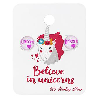 Unicorn Logo - 925 Sterling Silver Sets - W34203x