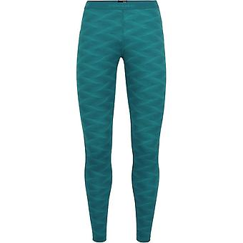 Icebreaker Women's Oasis Leggings Curve - Kingfisher/Arctic Teal