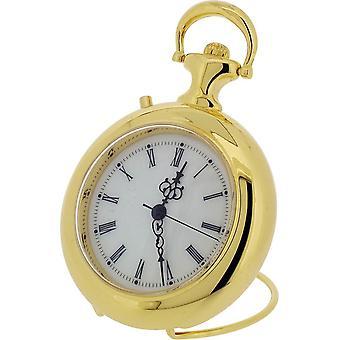 Cadeau tijd producten Pocket Watch en Tune miniatuur klok - goud