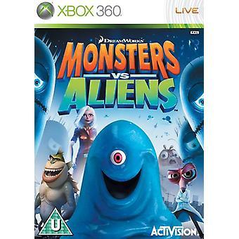 Monsters vs. Aliens (Xbox 360)-fabriks forseglet