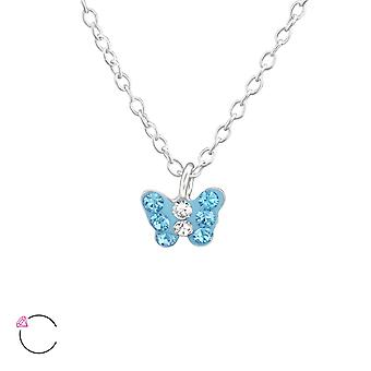 Papillon - 925 Sterling Silver Necklaces - W37645X