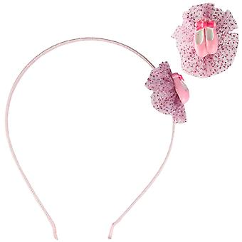 Molly & Rose Pink Alice Headband Ballett Ballerina Schuh-Design