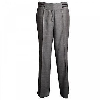 Tuzzi Women's Straight Leg Tailored Trousers